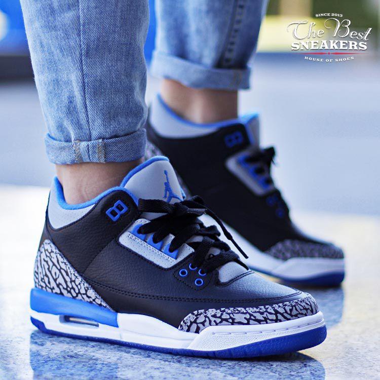 ... germany air jordan 3 sport blue gs aj3398614 007 39baf 21395 ef86ec63a