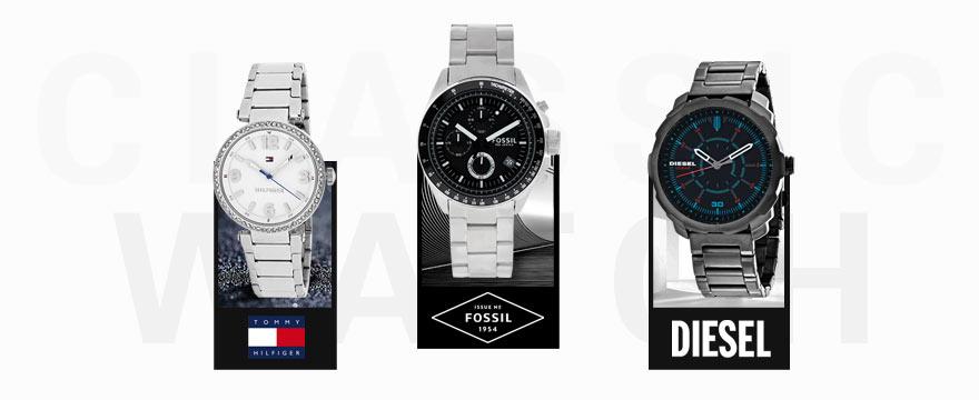 Diesel&Fossil等手表