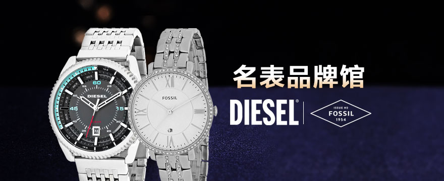 Diesel & Fossil 手表