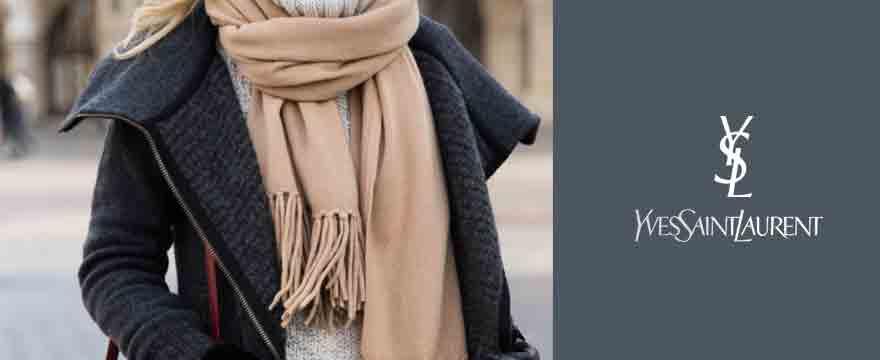 YSL围巾