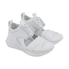 标准  女款 Puma Womens Fenty By Rihanna Riri White Fenty Avid 36768302  运动鞋36768302-Puma-White-Drizzle-M 70460beeb